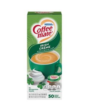 Nestle Coffee Mate Irish Creme Single Serve Liquid Creamer 0.375oz (11ml) 50s