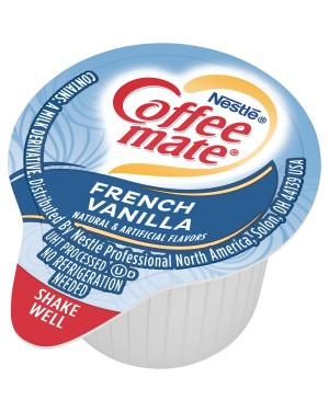 Coffee Mate French Vanilla Single serve (0.375oz) 11ml x 180