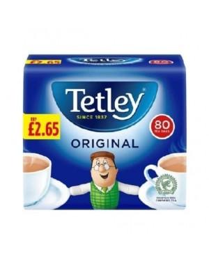 Tetley Tea Bags 250g 80's PM £2.65