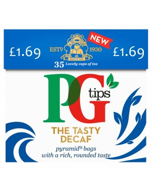PG Tips Pyramid Decaff 35's PM