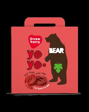 Bear Yoyo Strawberry 5x20g