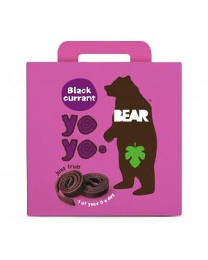 Bear Yoyo Blackcurrant 5x20g
