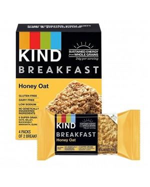 Kind Breakfast Honey Oat 1.8oz (50g) 8's (4x2)