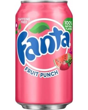Fanta Fruit Punch Soda Can 12oz (355ml)