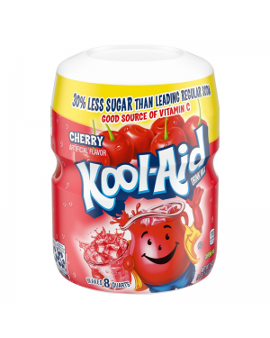 Kool Aid Cherry Drink Mix 8qt