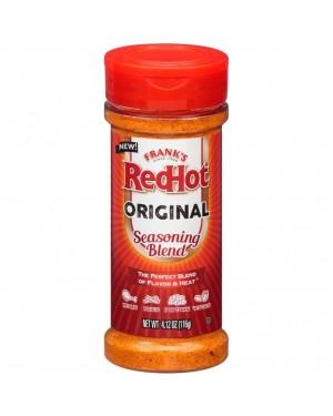 Franks RedHot Seasoning Blend 4.12oz (116g)