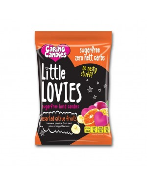 Caring Candies Little Lovies Assorted Citrus Fruits 100g