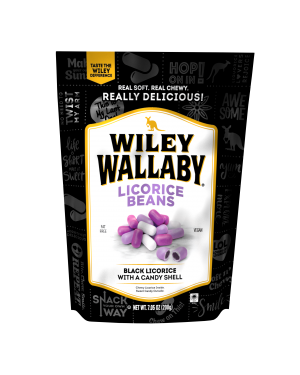 Wiley Wallaby Outback Beans Black 7.05oz (200g)