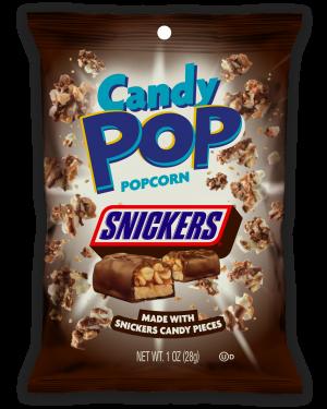 Candy Pop Popcorn Snickers 1oz (28g) x 8