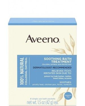 Aveeno Anti-Itch Sooth Baby Bath Treatment Packets 1.5oz 8's