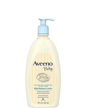 Aveeno Baby Moisture Lotion Fragrance Free (18oz) 532ml