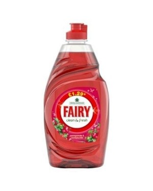 Fairy Washing Up Liquid Pomegranate 433ml
