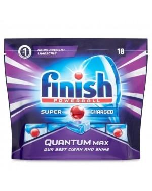Finish Dishwasher Tablets Quantum Max 18's