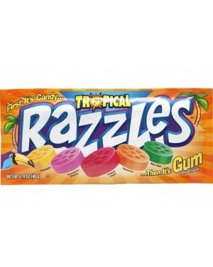 Concord Razzles Tropical 1.4oz (40g) x 24