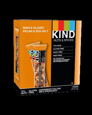 Kind Bars Maple Glazed Pecan and Sea Salt 12x40g
